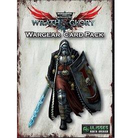 Games Workshop WARHAMMER 40K WRATH AND GLORY WARGEAR CARD PACK