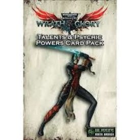 Games Workshop WARHAMMER 40K WRATH AND GLORY TALENTS/POWERS PACK