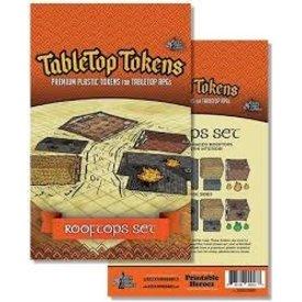 Geek Tank Games TABLETOP TOKENS ROOFTOPS SET