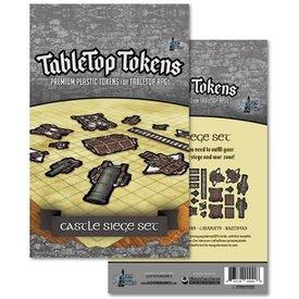 Geek Tank Games TABLETOP TOKENS CASTLE SIEGE SET