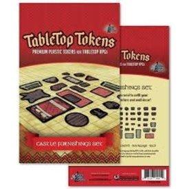 Geek Tank Games TABLETOP TOKENS CASTLE FURNISHING SET