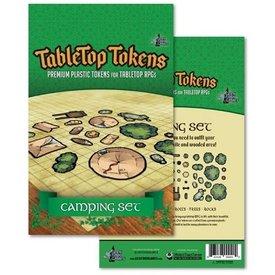 Geek Tank Games TABLETOP TOKENS CAMPING SET
