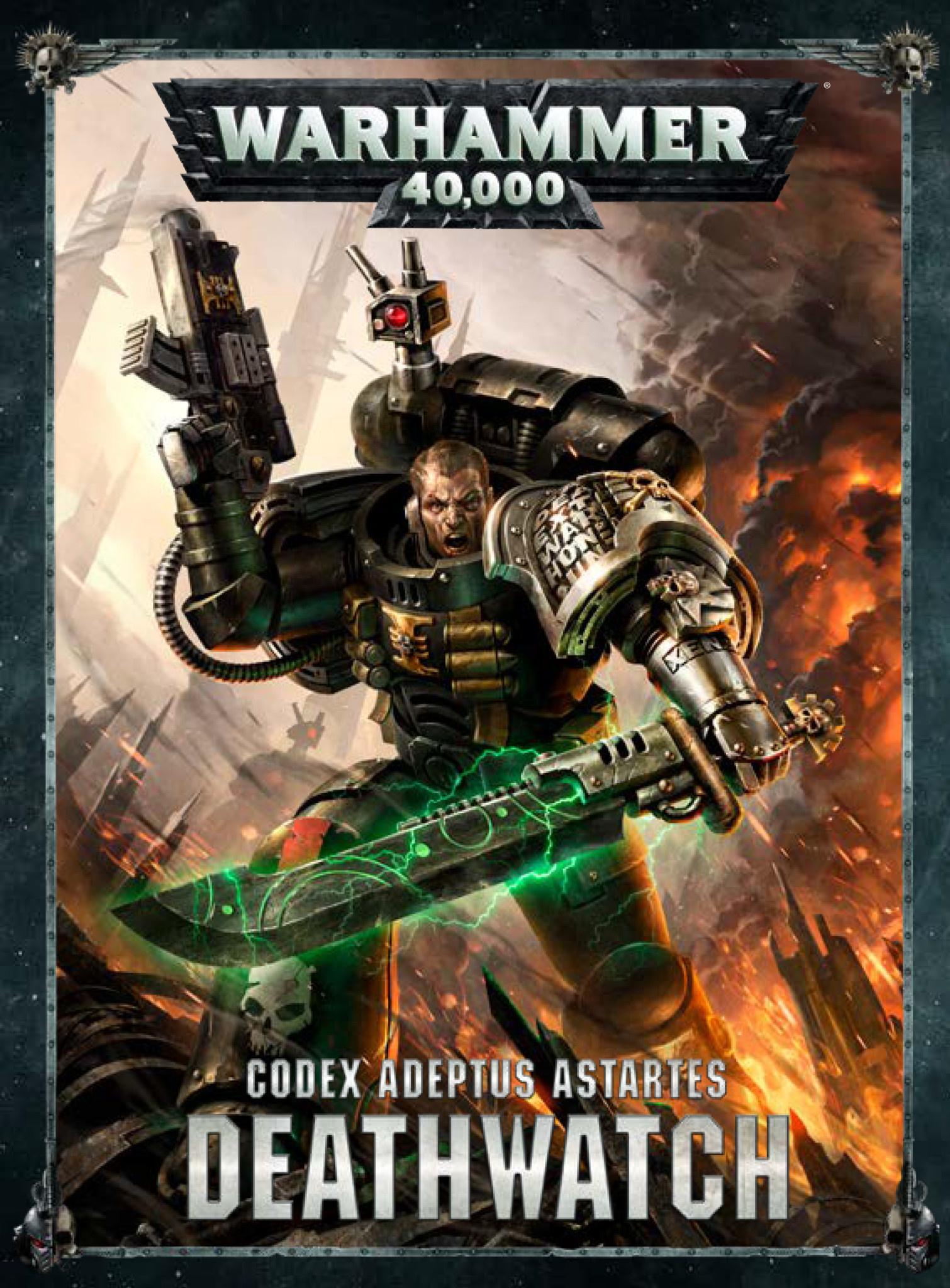 Warhammer 40k CODEX: DEATHWATCH (HARDBACK) (ENGLISH)