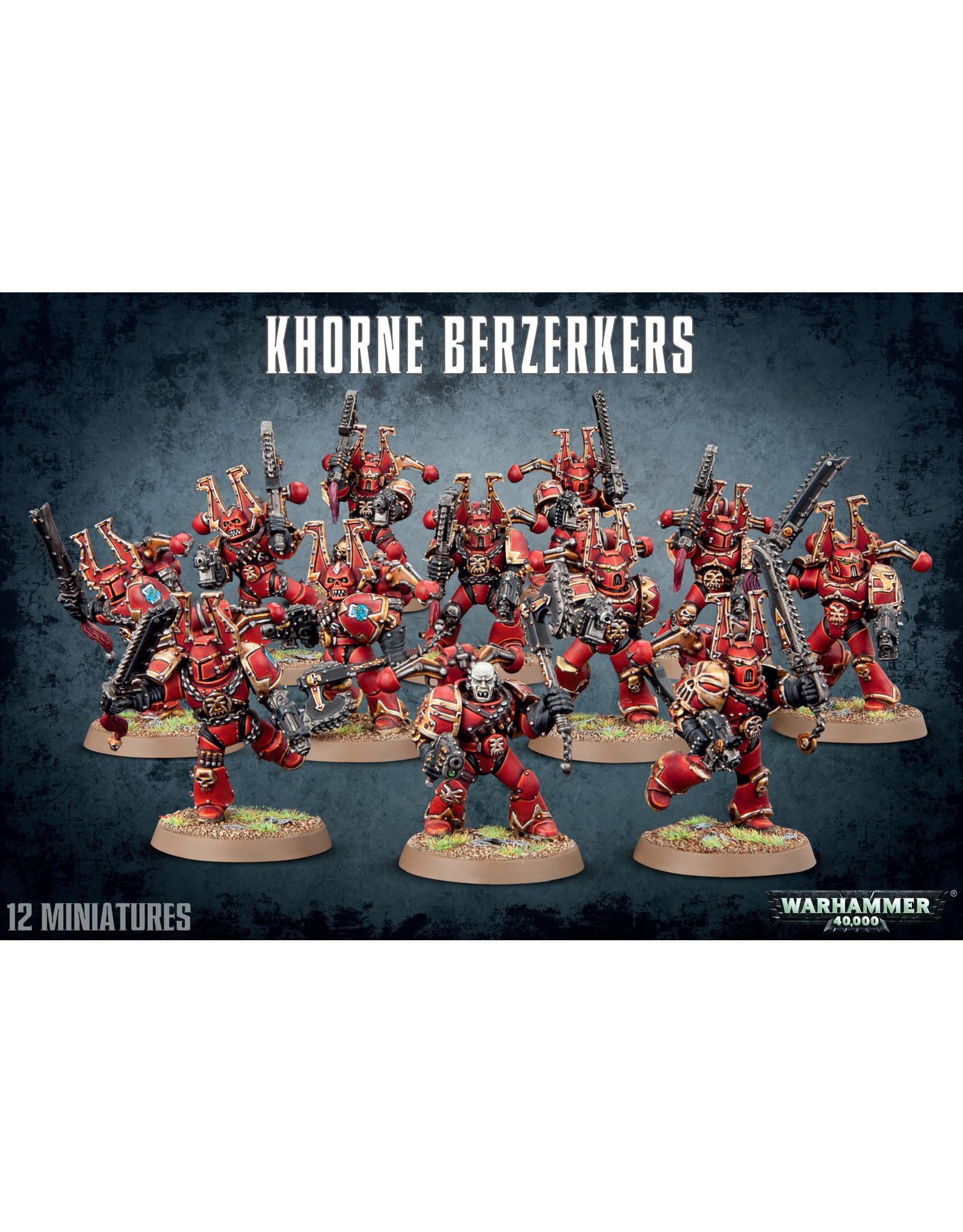 Warhammer 40k KHORNE BERZERKERS