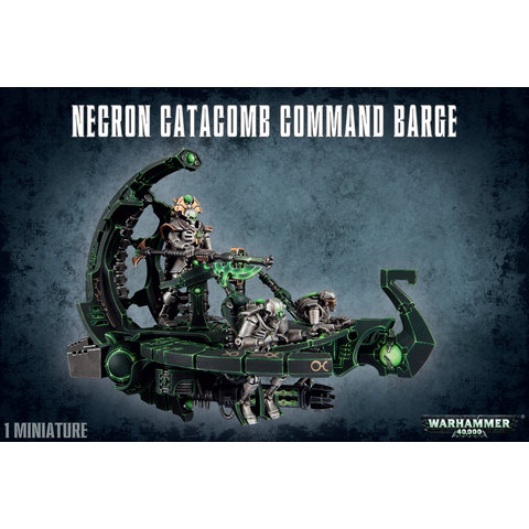 NECRONS CATACOMB COMMAND BARGE