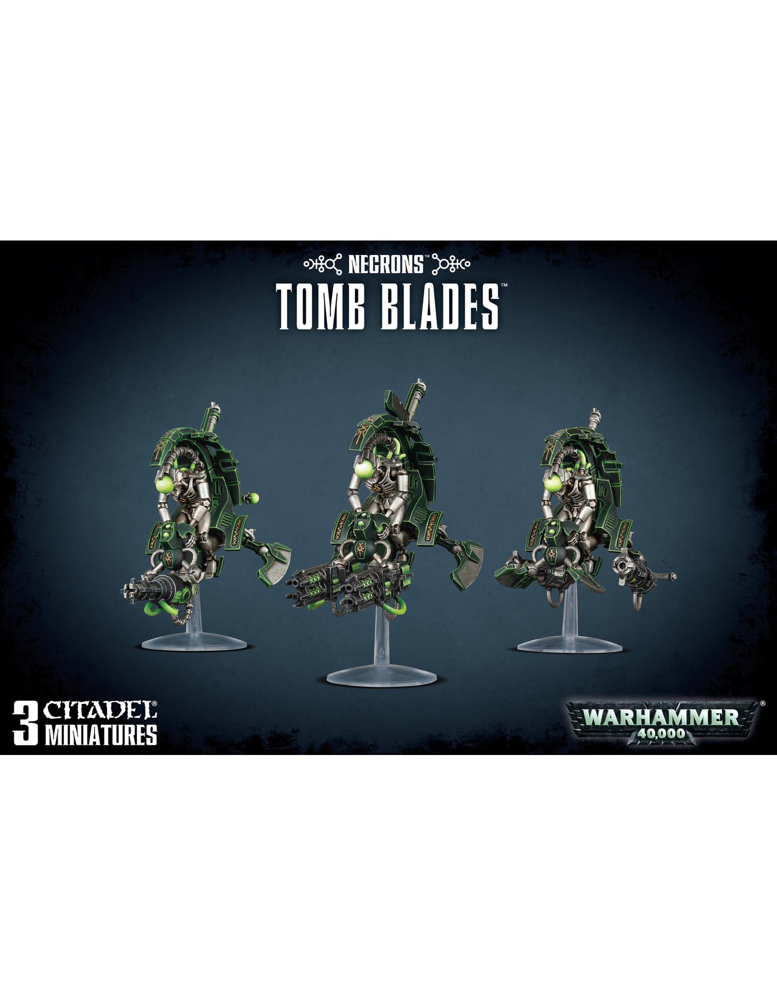Warhammer 40k NECRONS TOMB BLADES