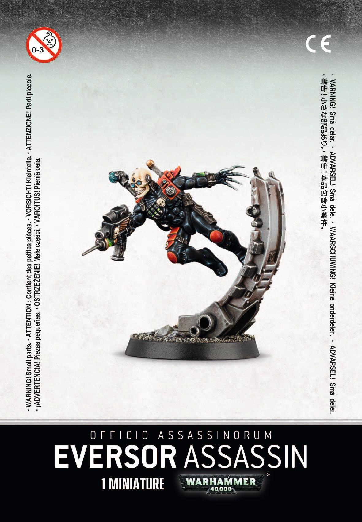 Warhammer 40k OFFICIO ASSASSINORUM EVERSOR ASSASSIN