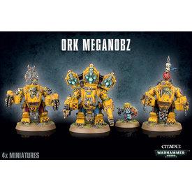 Warhammer 40k ORK MEGANOBZ