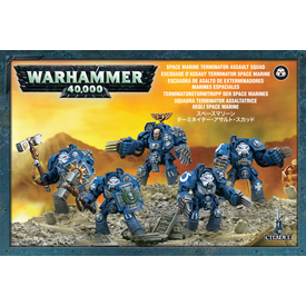 Warhammer 40k SPACE MARINE TERMINATOR ASSAULT SQUAD