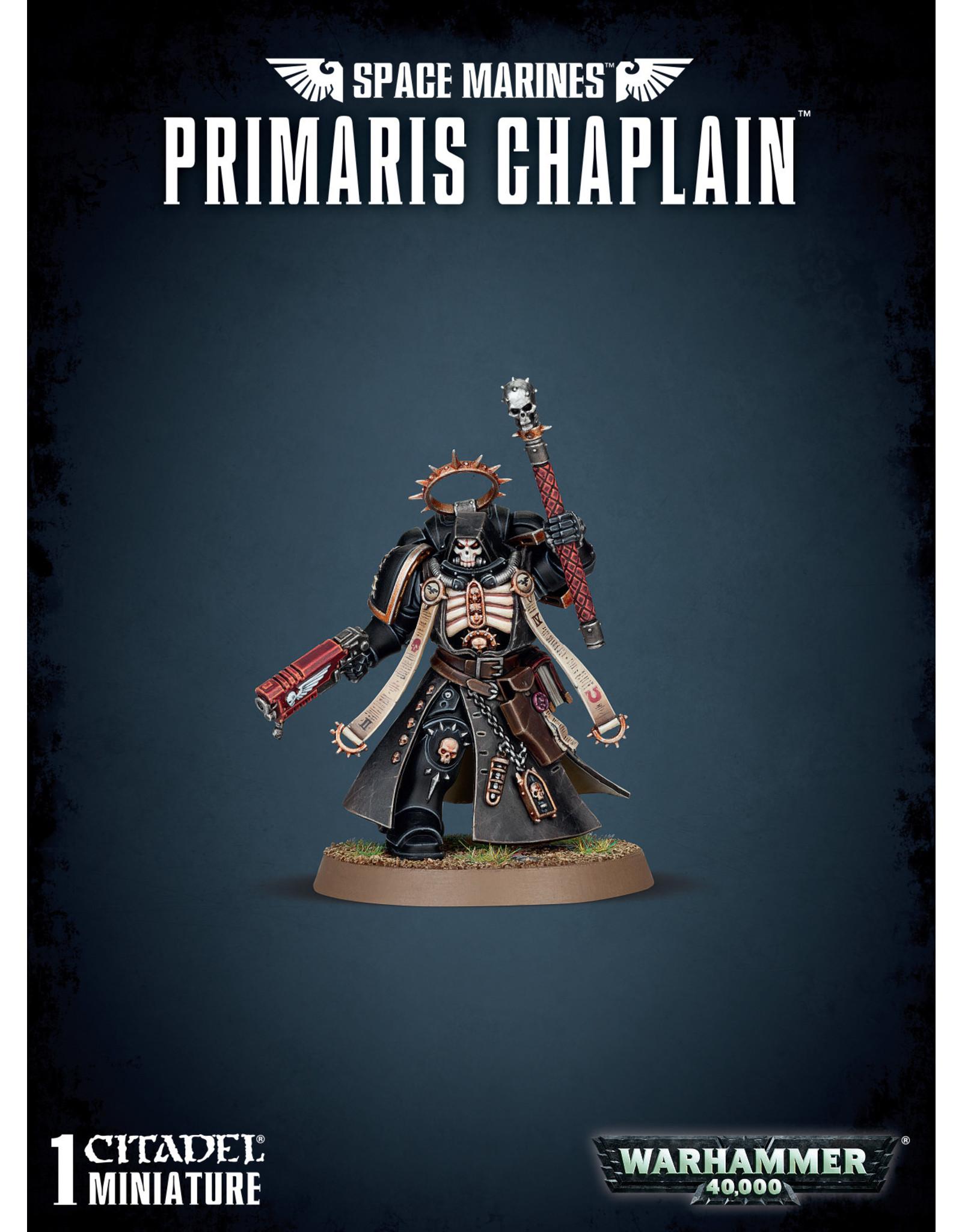 Warhammer 40k SPACE MARINES PRIMARIS CHAPLAIN