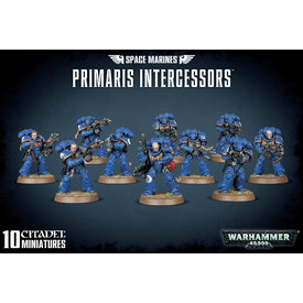 Warhammer 40k SPACE MARINES PRIMARIS INTERCESSORS