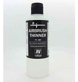 Vallejo VALLEJO: AUXILIARY AIRBRUSH THINNER 200ML
