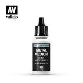 Vallejo VALLEJO: AUXILIARY METAL MEDIUM (17ML)