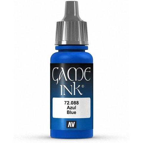 VALLEJO: GAME COLOR BLUE INK 17ML