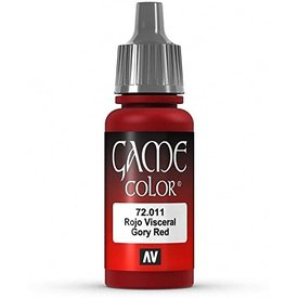 Vallejo VALLEJO: GAME COLOR GORY RED (17ML)