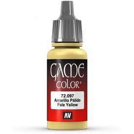 Vallejo VALLEJO: GAME COLOR PALE YELLOW (17ML)