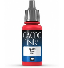 Vallejo VALLEJO: GAME COLOR RED INK 17ML