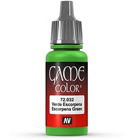 Vallejo VALLEJO: GAME COLOR SCORPY GREEN (17ML)