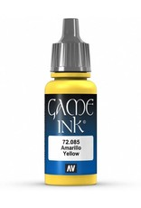 Vallejo VALLEJO: GAME COLOR YELLOW INK 17ML