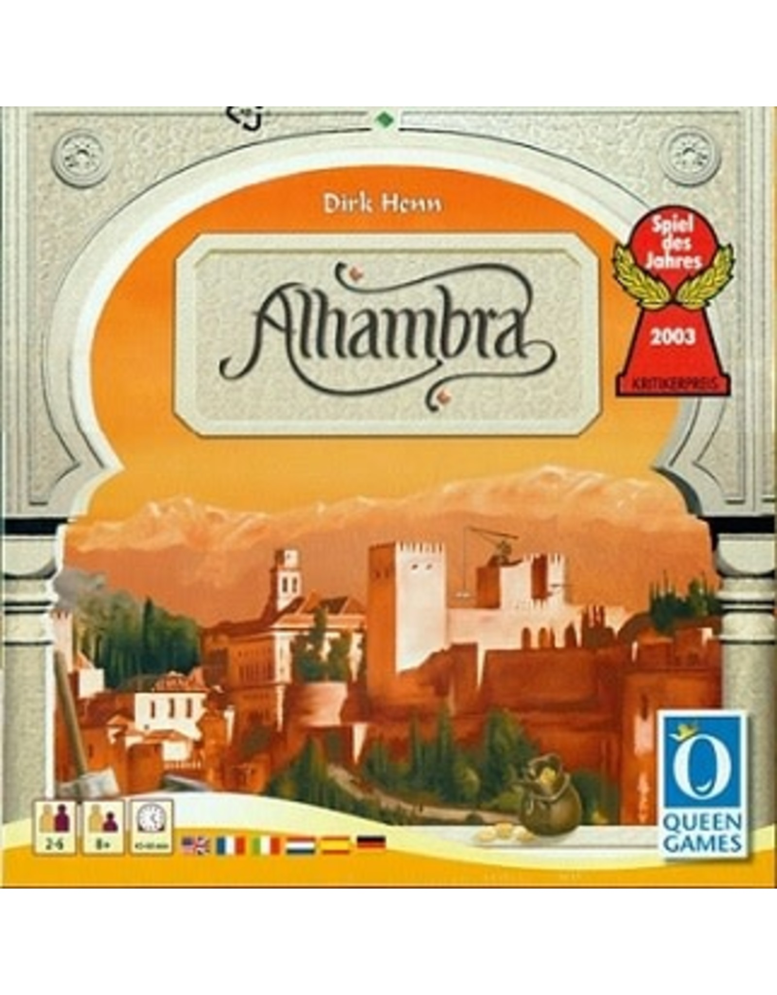 Queen Games Alhambra