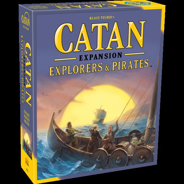 CATAN CATAN EXP: EXPLORERS & PIRATES (English)