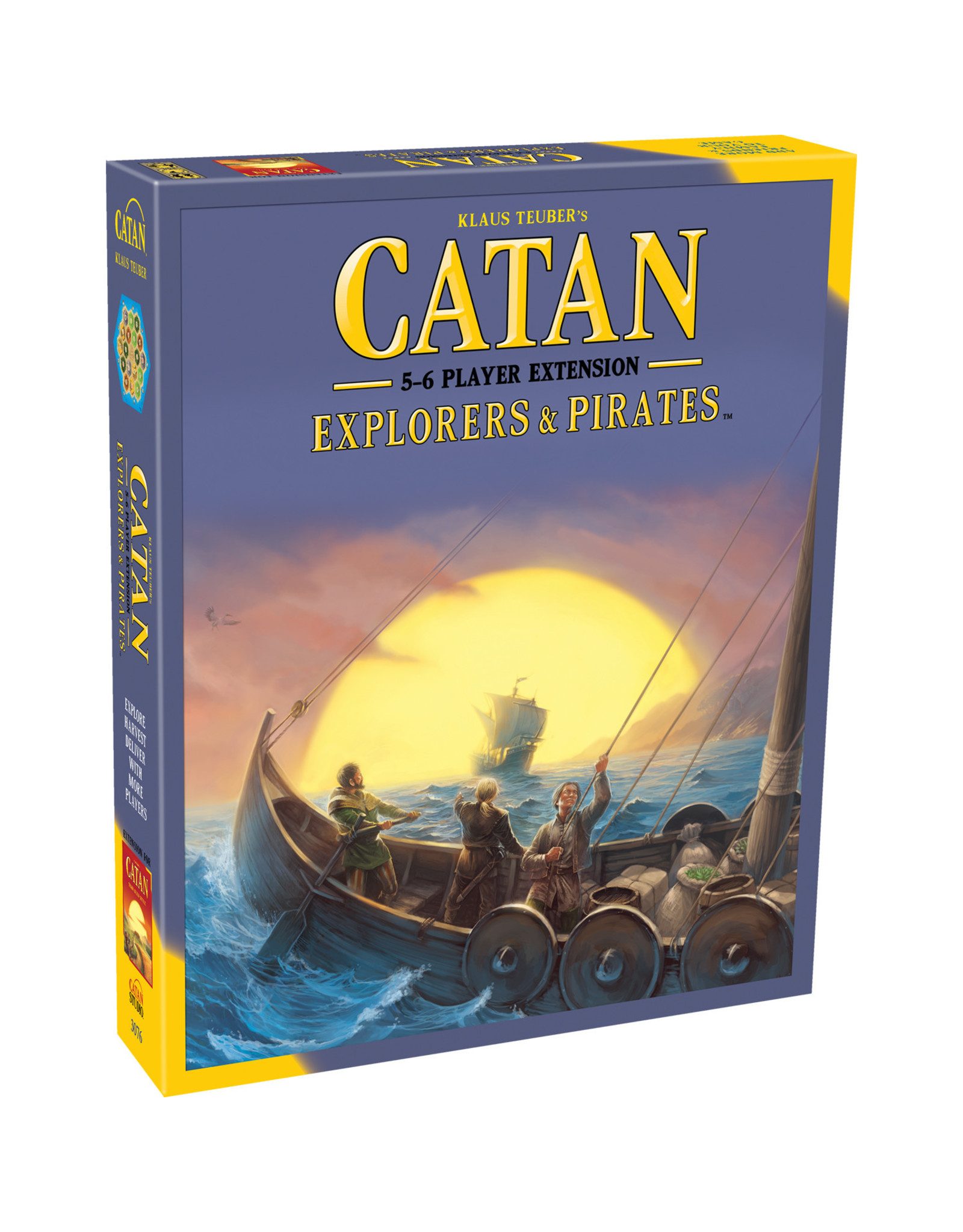 CATAN CATAN EXT: EXPLORERS & PIRATES 5-6 PLAYER (English)