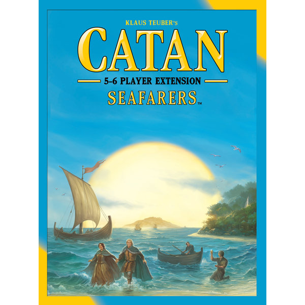 CATAN CATAN EXT: SEAFARERS 5-6 PLAYER (English)