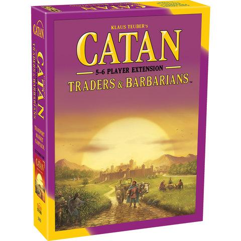 CATAN EXT: TRADERS & BARBARIANS 5-6 PLAYER (English)