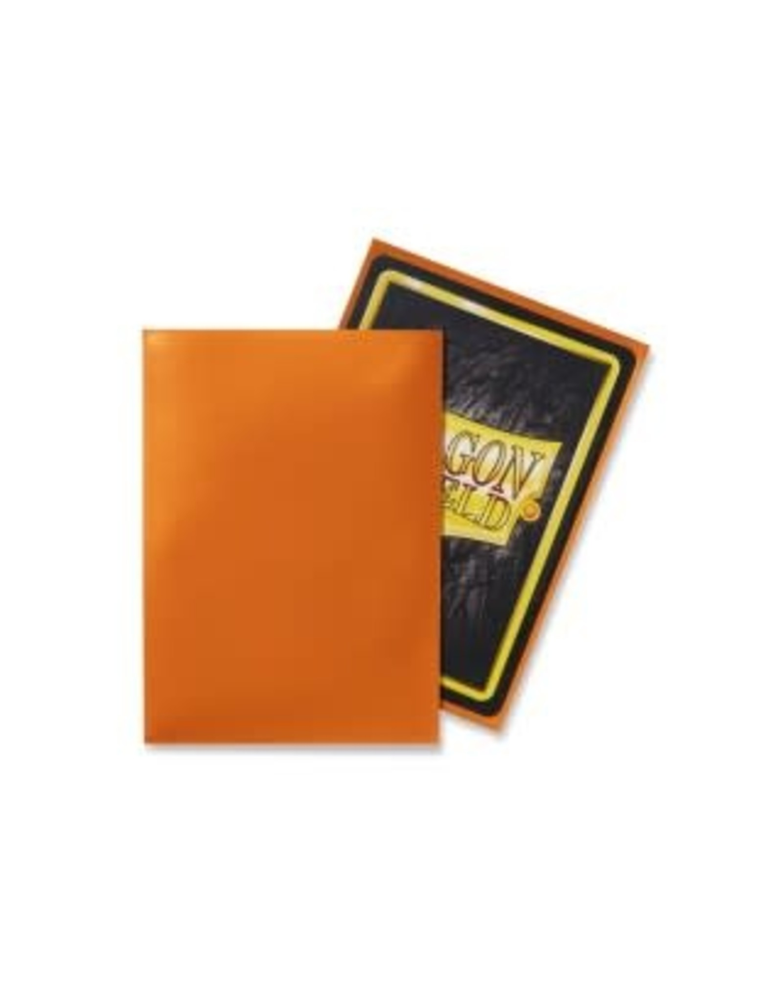 Arcane Tinmen DRAGON SHIELD SLEEVES ORANGE CLASSIC 100CT