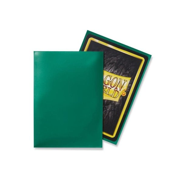 Arcane Tinmen DRAGON SHIELD SLEEVES GREEN CLASSIC 100CT
