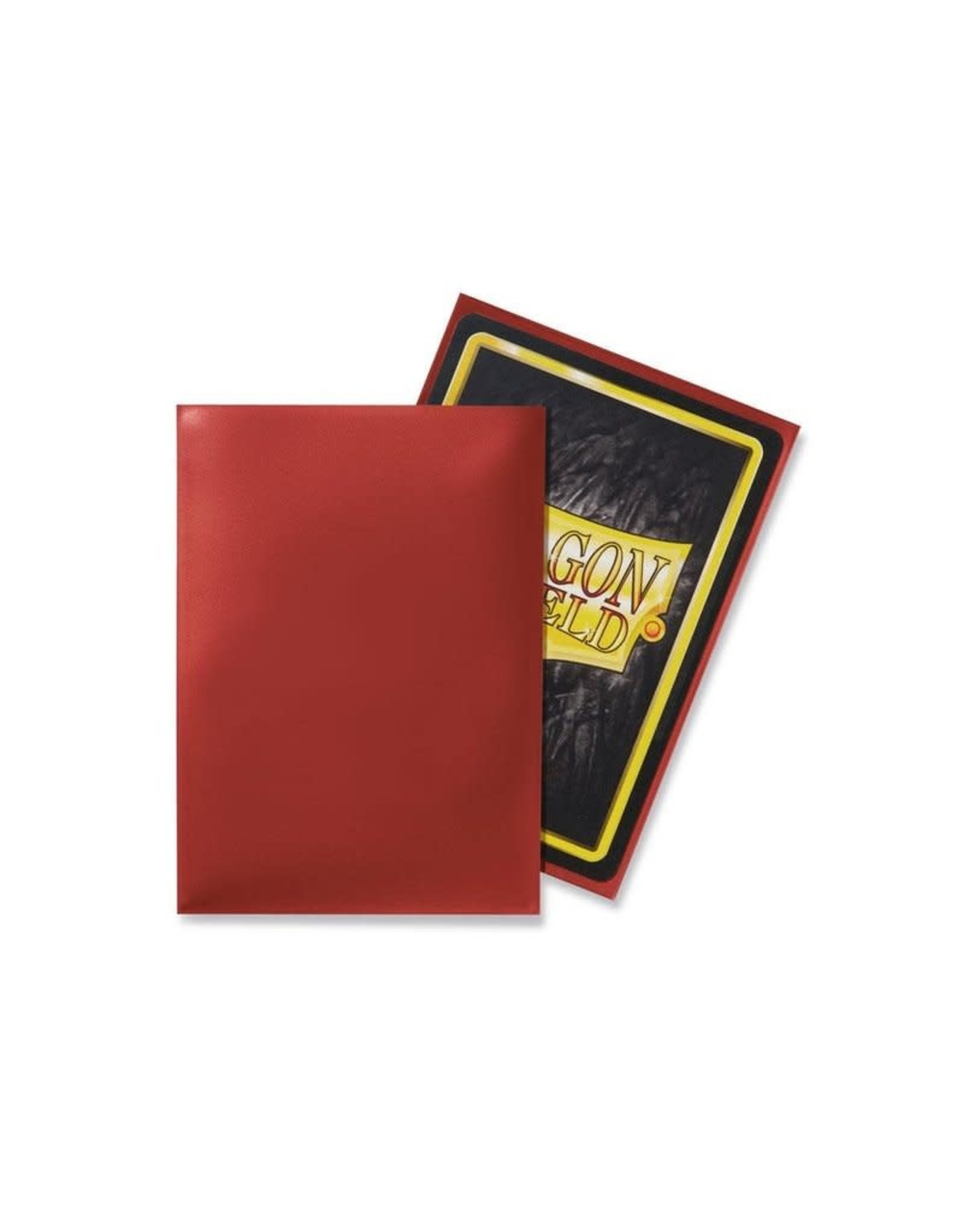Arcane Tinmen DRAGON SHIELD SLEEVES RED CLASSIC 100CT