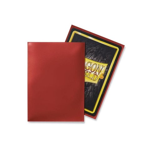 DRAGON SHIELD SLEEVES RED CLASSIC 100CT