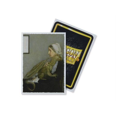 DRAGON SHIELD SLEEVES WHISTLER'S MOTHER ART 100CT