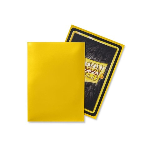 DRAGON SHIELD SLEEVES YELLOW CLASSIC 100CT