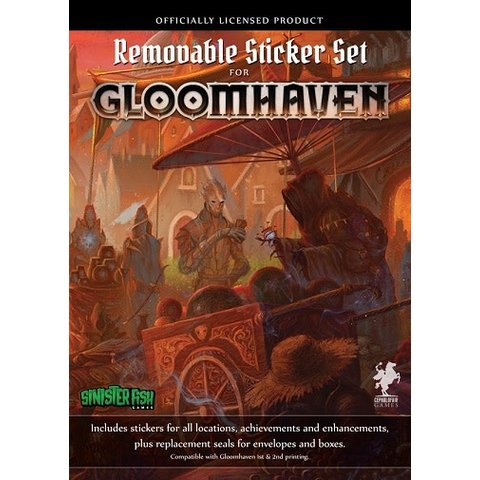 Gloomhaven Removable Sticker (English)