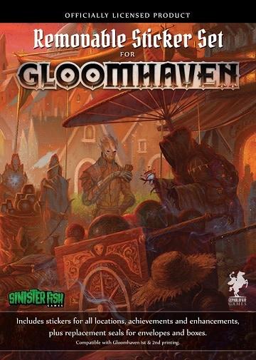 CEPHALOFAIR GAMES Gloomhaven Removable Sticker (English)