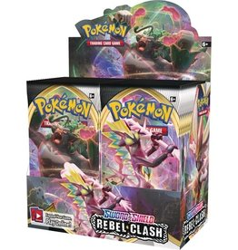 POKEMON POKEMON  REBEL CLASH BOOSTER BOX