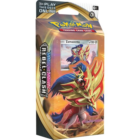Theme Deck: Rebel Clash - Zamazenta