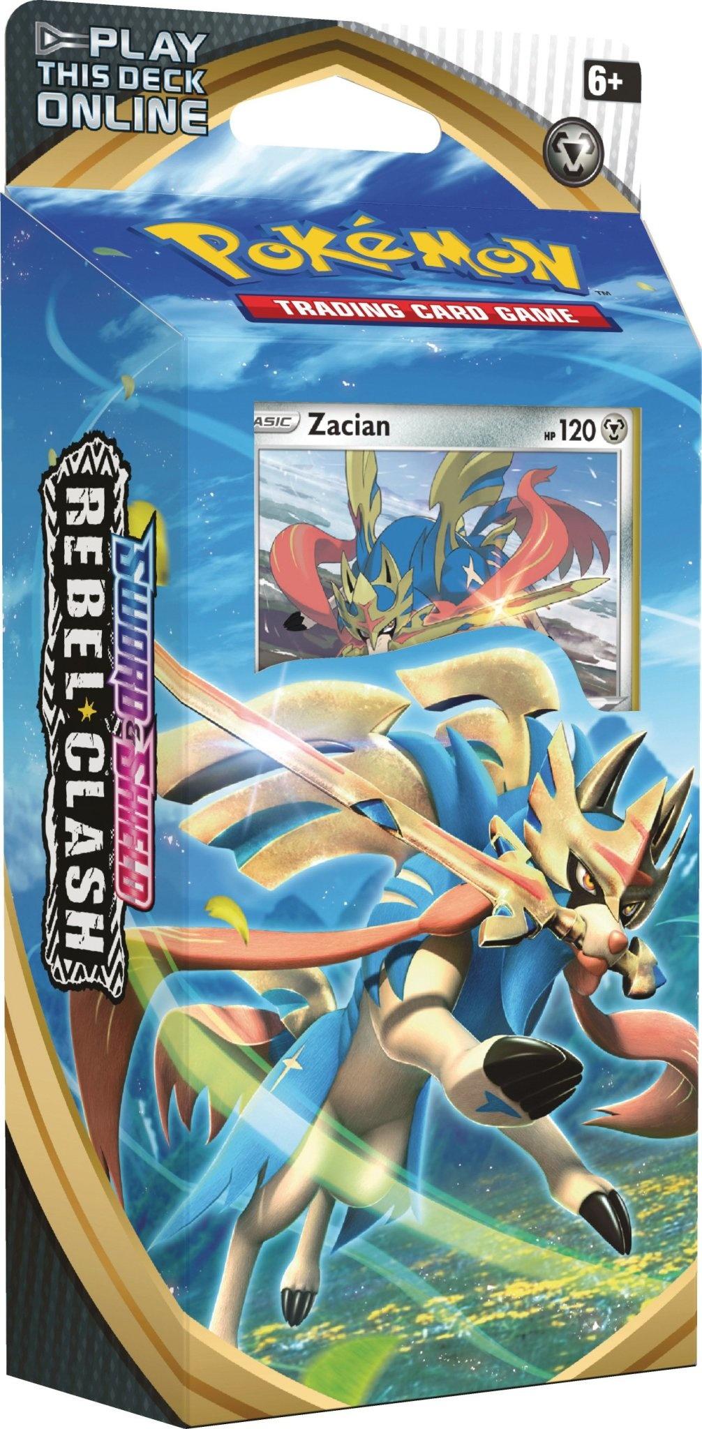 POKEMON Theme Deck: Rebel Clash - Zacian