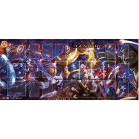 Upper Deck MARVEL LEGENDARY PLAYMAT THANOS VS AVENGERS