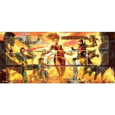 MARVEL LEGENDARY PLAYMAT DARK PHOENIX VS X-MEN