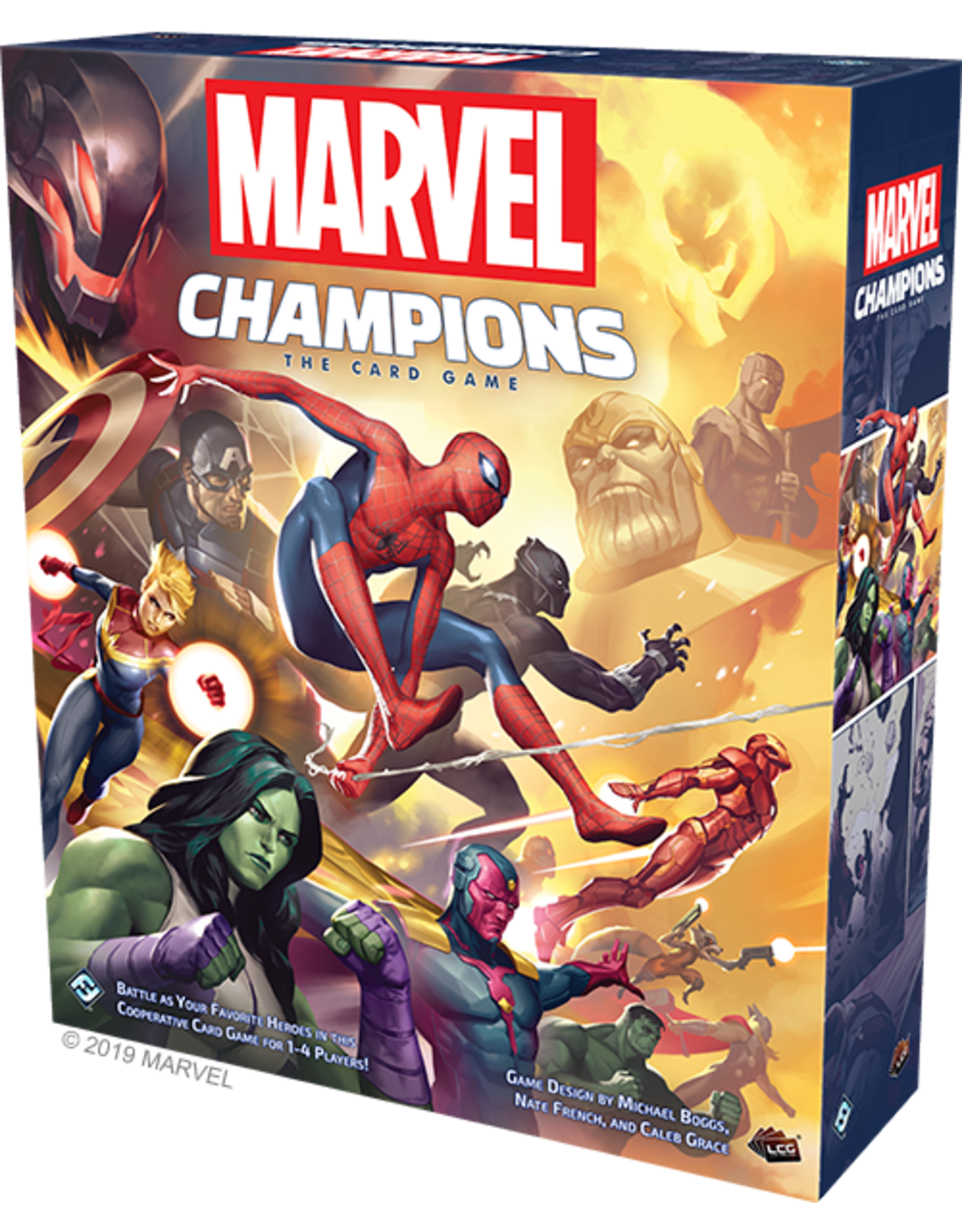 FANTASY FLIGHT MARVEL CHAMPIONS LCG (English)