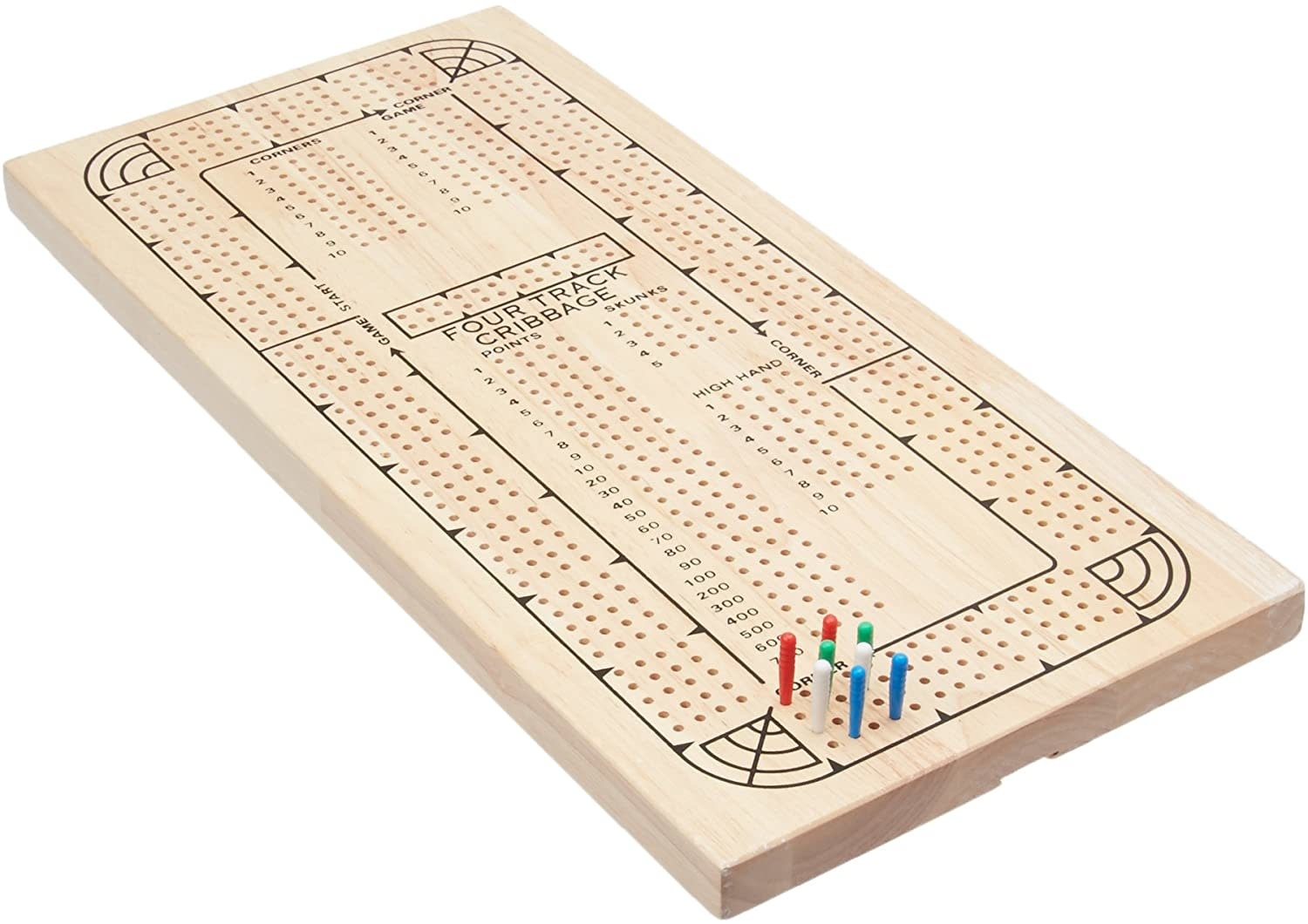 Divers Four Track Cribbage