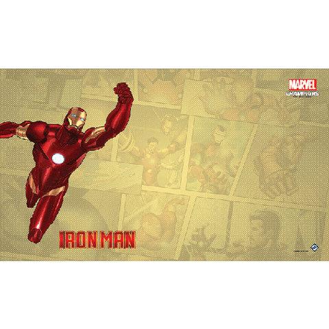 Iron Man Game Mat