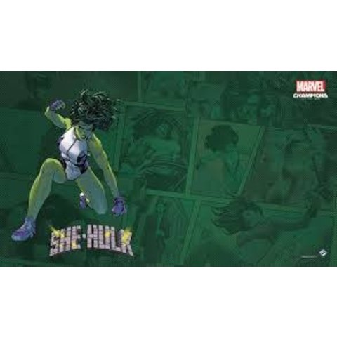 She-Hulk Game Mat