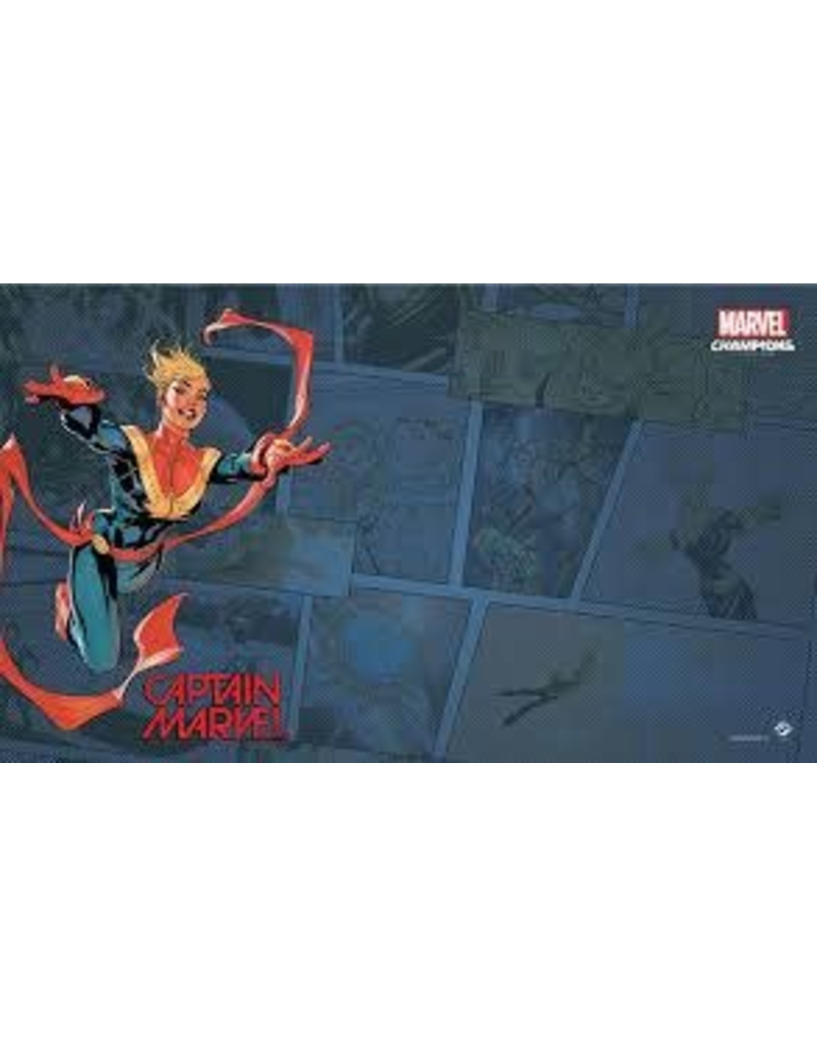 ASMODEE Captain Marvel Game Mat