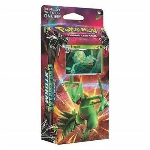 Pokemon  Sun & Moon Celestial Storm Theme Deck - Leaf Charge