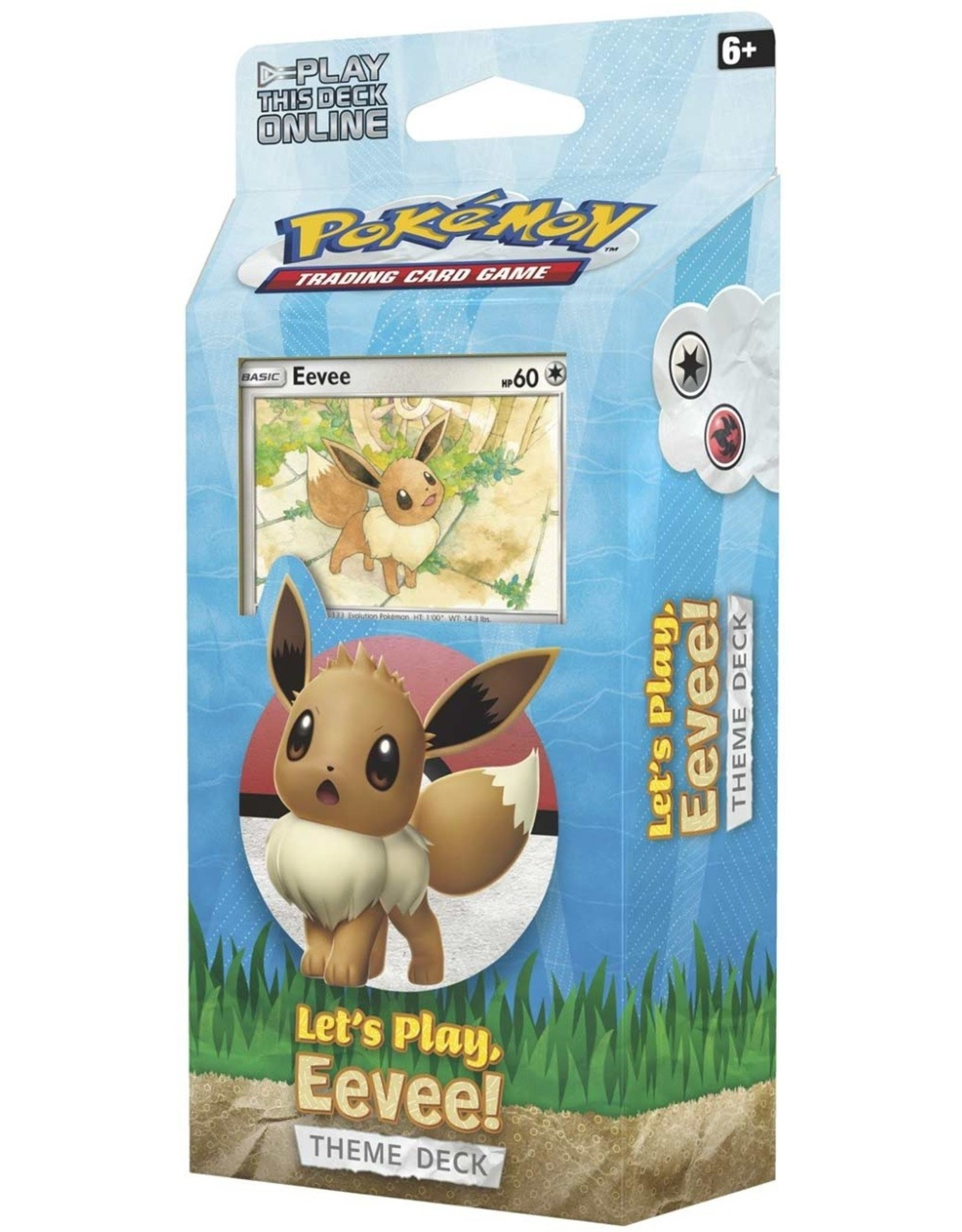 POKEMON Theme Deck: LET'S PLAY – EEVEE DECK