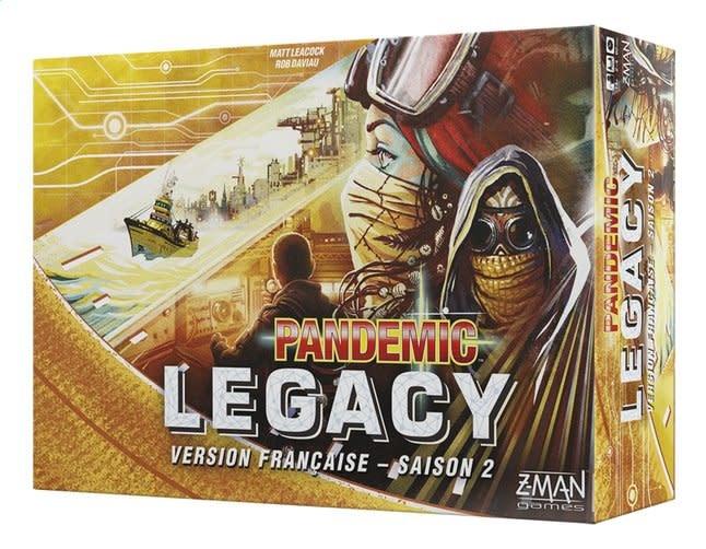 Z-MAN GAMES PANDEMIC - LEGACY JAUNE SAISON 2