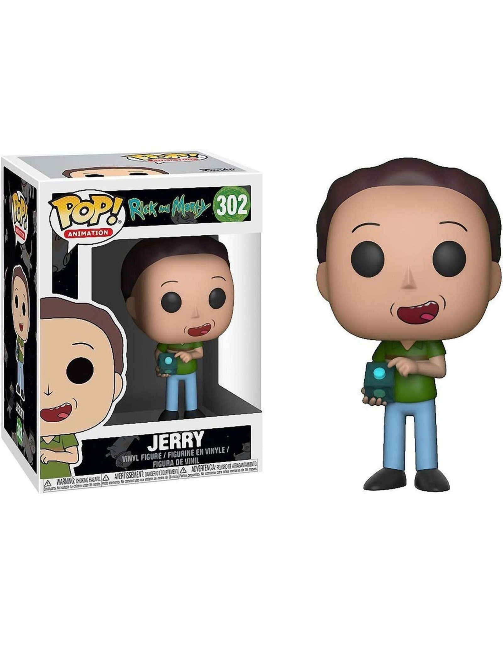 Funko POP! ANIMATION RICK AND MORTY - JERRY